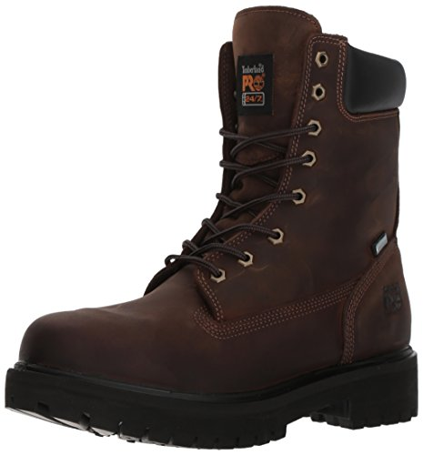 Timberland Pro Men's Direct Attach 8' Waterproof Workboot,Brown,10.5 M