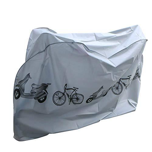 Fahrradschutzhülle,Nakeey Wasserdicht Fahrradhülle Fahrradgarage Fahrrad Schutzhülle -Universal Fahrradschutz Fahrrad abdeckung Cover 210x 98x110CM Hülle für Fahrrad