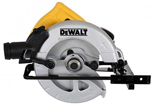 DeWalt DWE560-QS Scie circulaire filaire - Moteur 1350W - Ø190 mm - Profondeur de coupe 65 mmInclinaison de la lame 48° - Lame carbure 24 dents - Guide parallèle - Adaptateur d'aspiration - Clé