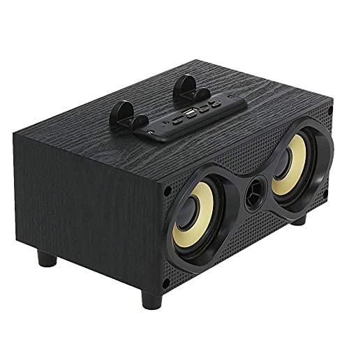 Altavoces inalámbricos Bluetooth, Caja de Sonido al Aire Libre 10W Subwoofer bajo estéreo AUX en Radio FM Lectura de Unidad de Disco TF U