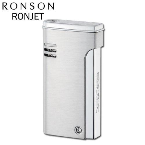 RONSON ロンソン ガスライター ロンジェット バーナーフレームライター R29-0002 クロームサテン