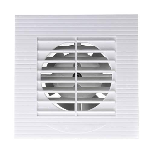 LANDUA 12W 4 Zoll Belüftung Abluftventilator Badezimmer Decke Wandhalterung Gebläse Fenster Wand Küche Toilette Bad Ventilator Loch Größe 100x100mm