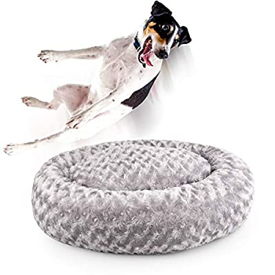 """Amazon - Save 50%: Beewarm Comfortable Cuddler Dog and Cat Bed Oval (24""""/32"""") – Lifetime…"""