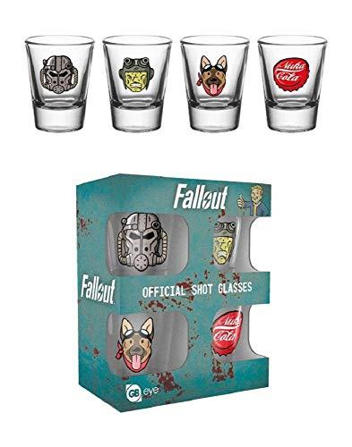 GB Eye LTD,Fallout 4, Iconos, Vasos de chupito