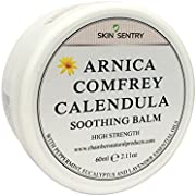 High Strength Arnica, Comfrey & Calendula Balm by Chambers & Co (60g)