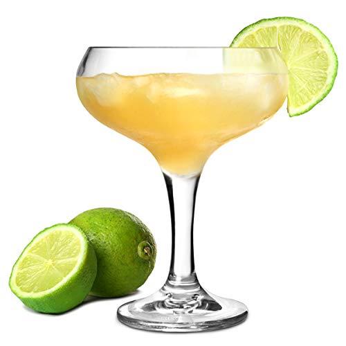 Verres à cocktail en polycarbonate Coupé arc/250 ml – Lot de 4