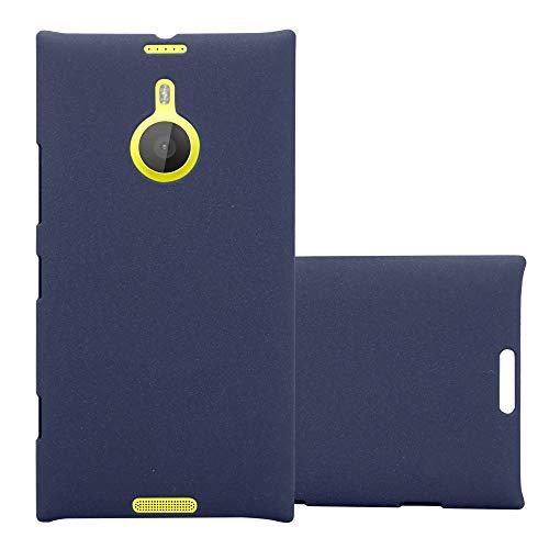 Cadorabo Hülle für Nokia Lumia 1520 in Frosty BLAU - Hardcase Handyhülle aus Plastik gegen Kratzer & Stöße - Schutzhülle Bumper Ultra Slim Back Hülle Hard Cover