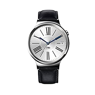 Huawei Watch Stainless Steel with Black Suture Leather Strap (U.S. Warranty) (B013LKLIB0) | Amazon price tracker / tracking, Amazon price history charts, Amazon price watches, Amazon price drop alerts