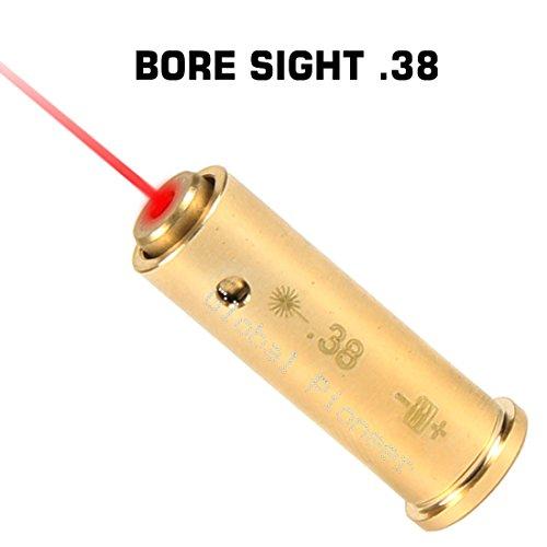 GlobalPioneer RED Laser .38 Special Bore Sight Boresighter Laser Boresight