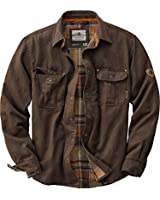 Legendary Whitetails Men's Journeyman Rugged Shirt Jacket Tobacco Large