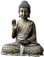 彫刻像の飾り飾り置物のコレクティブル置物樹脂タイ仏像ビンテージ彫刻家の装飾 - A_23 * 16.5 * 8.5cm (Color : A, Size : 17.5*10.5*21.5 CM)