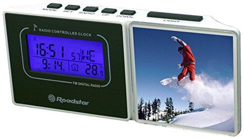 Roadstar CLR-450R Funk Radiowecker mit Bilderrahmen