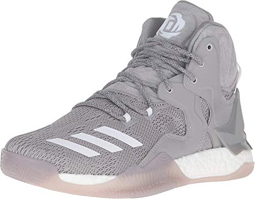 adidas Men's D Rose 7 Basketball Shoe, Medium Grey...