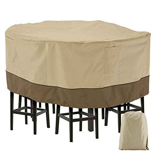Garden Furniture Covers Round, Garden Table Covers Round, Garden Furniture Covers Round Circular Heavy Duty Patio Furniture Covers Waterproof Round