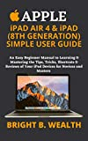 APPLE iPAD AIR 4 & iPAD (8TH GENERATION) SIMPLE USER GUIDE: An Easy Beginner Manual to Learning & Mastering the Tips, Tricks, Shortcuts & Reviews of Your ... for Novices and Masters (English Edition)