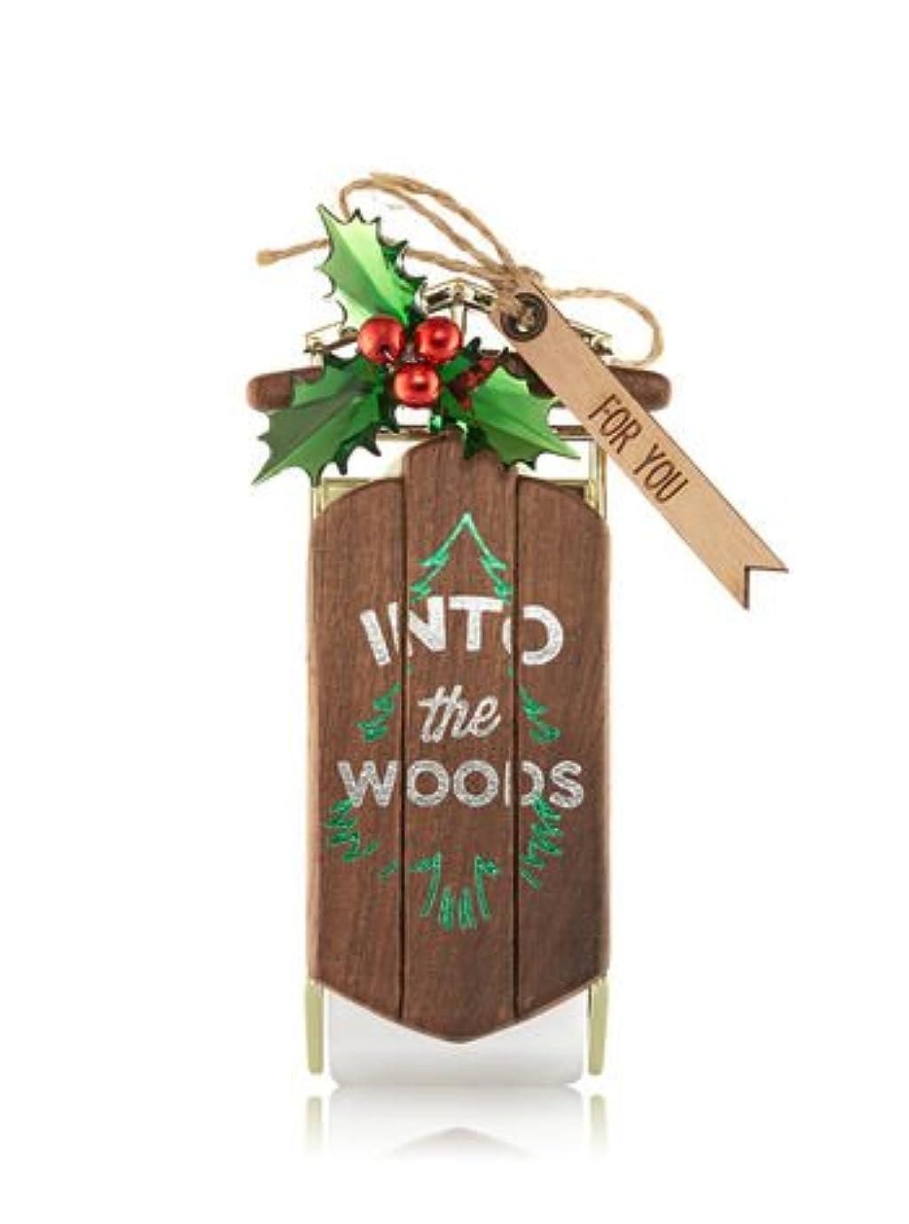ペダルパワーセル自分【Bath&Body Works/バス&ボディワークス】 ルームフレグランス プラグインスターター (本体のみ) イントゥーザウッズ Wallflowers Fragrance Plug Into The Woods [並行輸入品]