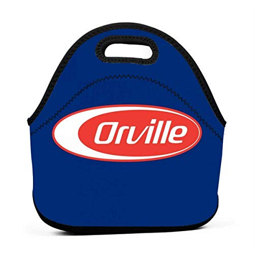 MaoMaoYongHui Orville Barilla Logo Mix Reutilizable Lunch Tote Bag Impermeable Picnic Lunch Box Para School Road Walking And Office- Waterproof/Warm/Cooler