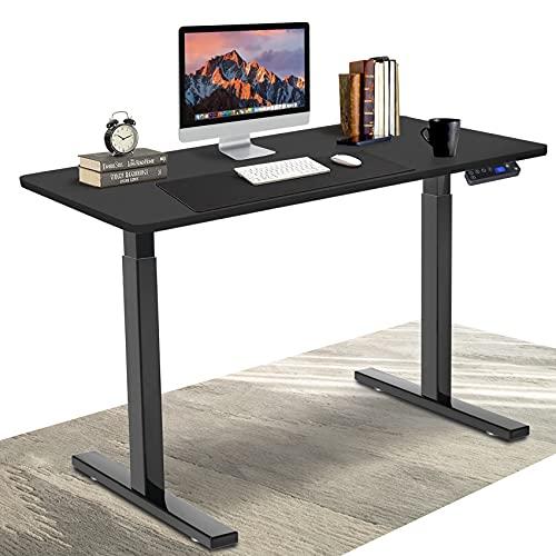 DCHOUSE Escritorio Marco de mesa de altura ajustable eléctricamente con control de memoria y...