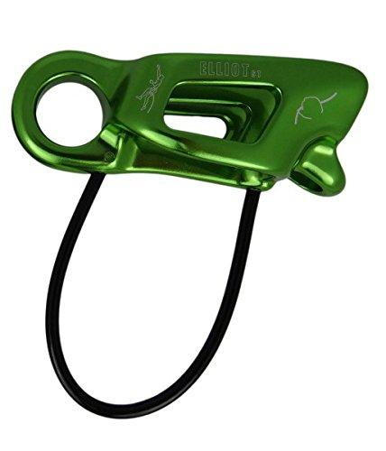 Elliot ST Sicherungsgerät Harlin Guide (Tube, Seile 8-11 mm), Farbe:grün