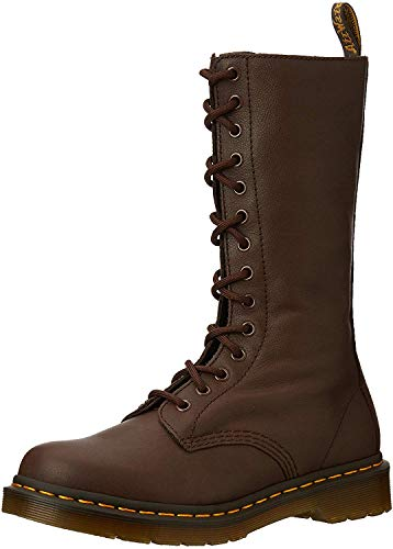 Dr. Martens 1b99, Stivaletti Donna, Marrone (Dark Brown 201), 38 EU