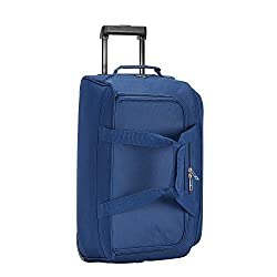 Safari Pret 55 Cms Polyester Navy Blue Cabin 2 Wheels Soft Duffle,Safari Industries (India) Ltd,PRET55RLNAV