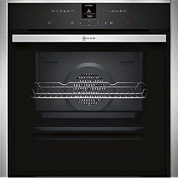 fours Moyenne, Int/égr/é, Electrique, A+, Noir, Argent, Rotatif, toucher Siemens HB675GBS1F Int/égr/é Electrique 71L 3600W A+ Noir Argent four