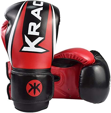 KRACE Kids Boxing Gloves Youth Training Gloves for Boxing 6oz 8oz 10oz Muay Thai Fight Gloves product image