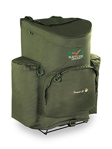 Marsupio Forest RF - Mochila técnica para la recogida de setas, unisex, adulto, verde, 50