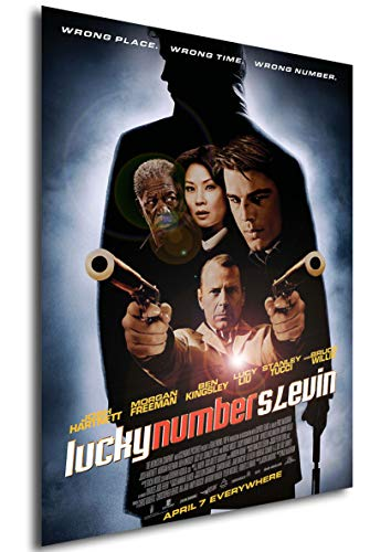 Instabuy Poster Lucky Number Slevin (El Caso Slevin) - Movie Poster - A3 (42x30 cm)