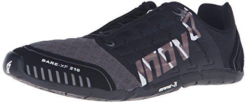 Inov-8 Bare-XF™ 210 Unisex Cross-Training Shoe, Black/Grey/White, 6 M US