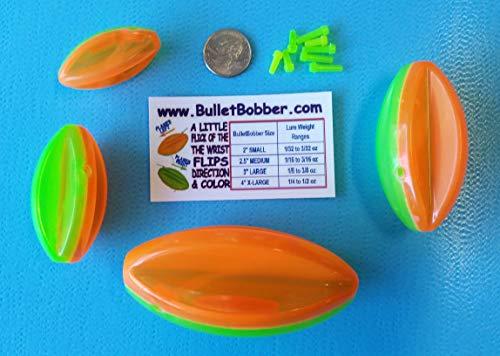 Steer It Fishing BulletBobber 4 PC. Combo Pack