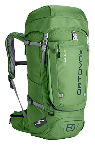 Ortovox Unisex-Erwachsene Traverse 40 Tagesrucksack, Grün (Eco Green), 24x36x45 centimeters