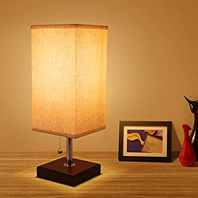 ➤ Cheap 'Bedside Table Lamp with Pull Chain, Seealle