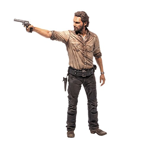 MC Farlane - Figurina The Walking Dead - Rick Grimes 25cm - 0787926144789
