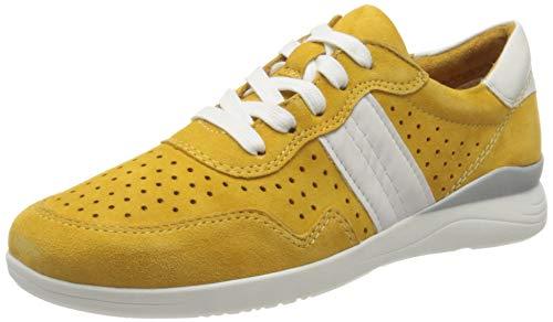 Jana Softline Damen 8-8-23753-24 Sneaker, Gelb (Saffron 627), 41 EU