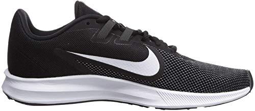 Nike Wmns Downshifter 9, Zapatillas de Running para Asfalto para Mujer, Multicolor (Black/White/Anthracite/Cool Grey 001), 39 EU