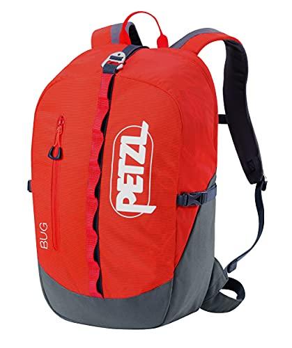 PETZL, Bug Climbing Pack, 18L / 1098 Cubic Inches, Orange
