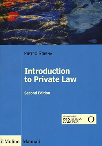 Introduction to private law (Manuali)