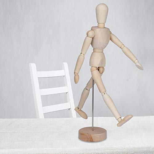 Ruining Manichino da Disegno, manichino da Tavolo Multifunzione Flessibile per artisti per la Pittura della Postura