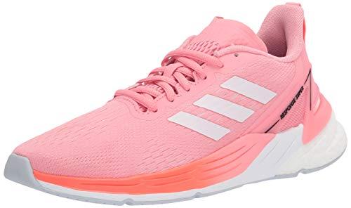 adidas Women's Response Prime Deal Running Shoe, Super Pop/Iridescent/Solar Red, 9