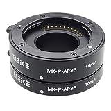 MEIKE mk-p-af3b Tubo de extensión macro para cámara sin espejo, compatible con Panasonic