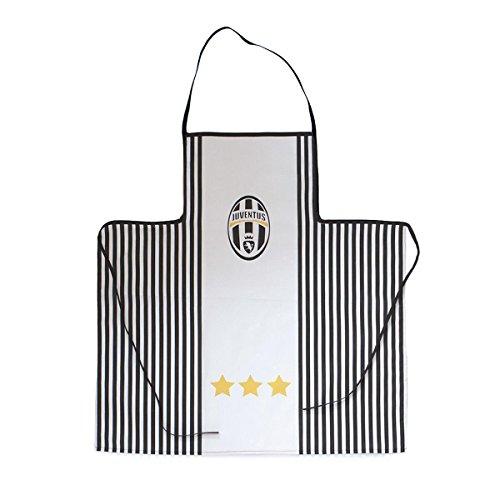 Juventus Grembiule da Cucina F.C. Juve Pettorina Ufficiale Puro Cotone Q352