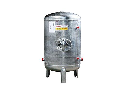 Druckbehälter 100 150 200 300 500 L 6 bar senkrecht verzinkt Druckkessel für Hauswasserwerk senkrecht stehend (150L)