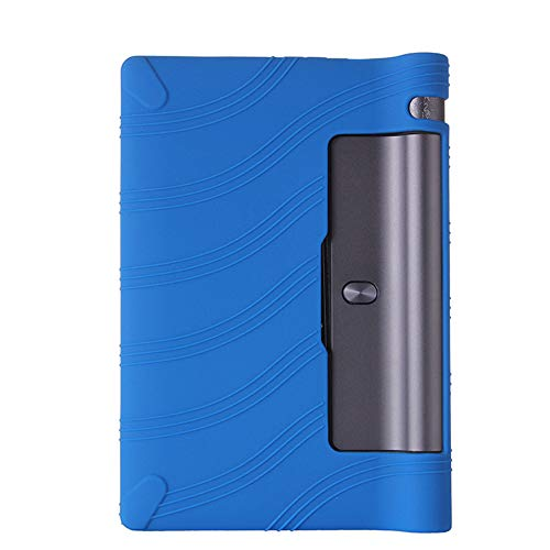 Oneyijun Dark Blue Soft Silicone Skin Pouch Protection Case Protective Cover for Lenovo Yoga Tab 3 YT3-850M/L 8.0 inch Tablet