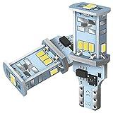 AUXITO T16 LED バックランプ 爆光1300ルーメン キャンセラー内蔵 バックランプ T16  T15 3020LED10連 24ヶ月保証 12V 無極性 ホワイト 後退灯 バックライト 50000時間以上寿命 2個セット