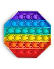 Droquimur   Pop It   Juguete Sensorial Antiestrés   Explotar Burbujas   Fidget Toy Relajante   Octogonal   Multicolor