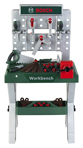 Theo Klein 8656 Bosch X-Leg Werkbank, Speelgoed, Meerkleurig
