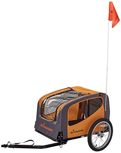 Schwinn Rascal Pet Trailer, Orange/Grey