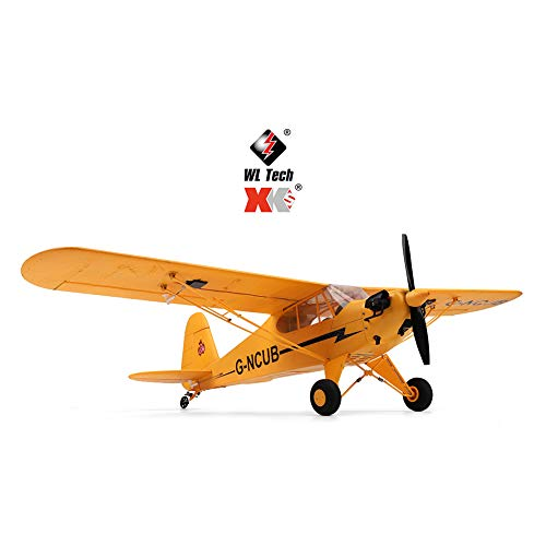 DishyKooker Flitetest Aeroscout RC Plane XK A160 3D/6G 7.4v Remote Control Airplane Ready to Fly Rc Planes 6-Axis 1406 Brushless Motor Airplane Great Gift Toy for Adults or Advanced Kids