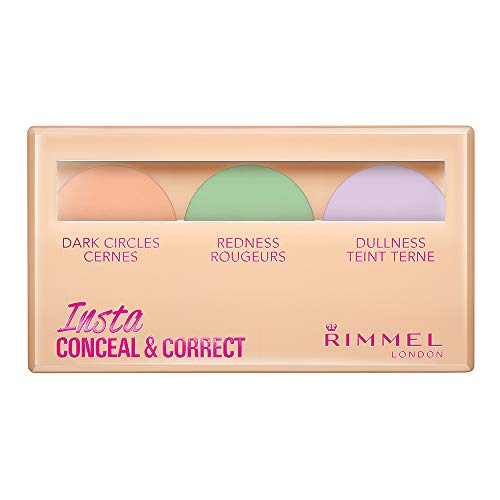 Rimmel London Insta Conceal and Correct, Paleta Correctora, 8.4 g